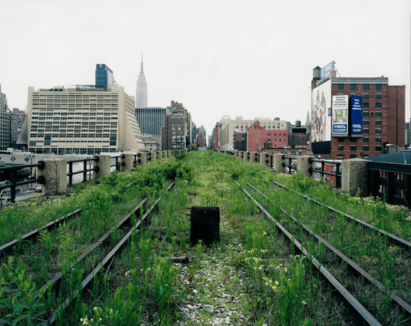 Photographs taken by Joe Sternfeld inspired the founders of Friends of the High Line to launch the reclamation project.