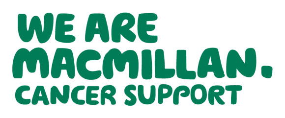 Wolff Olins designed this typographic identity solution for Macmillan Cancer Support.