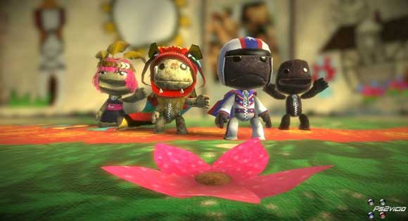 Little Big Planet offers players to chance to unlock outfits and appearances related to different worlds.