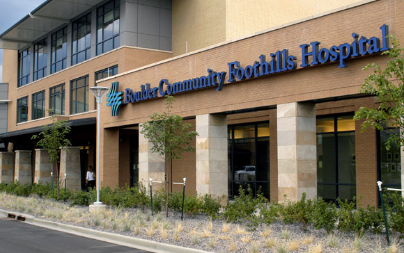 Boulder Community Hospital, healthcare without harm, green initiatives healthcare, reinventing the healthcare system,