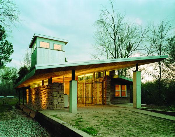 Christine/Papercrete House Mason's Bend, AL 2005 Thesis Project.
