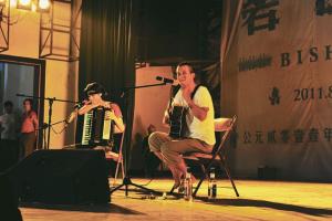 Wutiaoren performs at the 2011 Bishan Harvestival Photo credit: Ou Ning